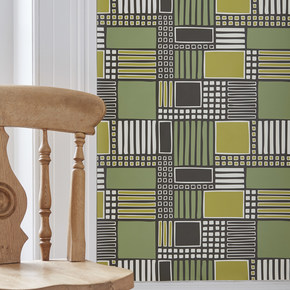 Parcel Geometric Contemporary Patterned Wallpaper