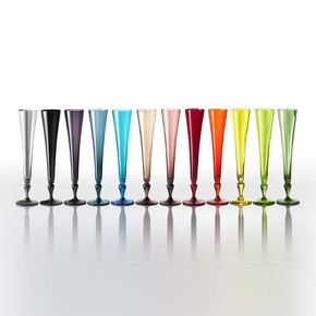 Excess Champagne Flute Glass
