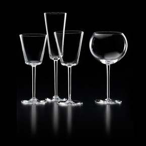HS Set of Four Assorted Glasses by Nason Moretti