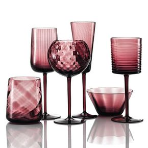 Gigolo Collection Set of Six Glasses