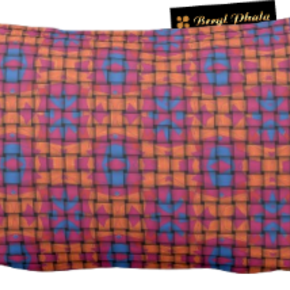 Cushion-Blue-And-Orange-Base-Weave-Print-Design-Rectangle_Beryl-Phala_Treniq_0