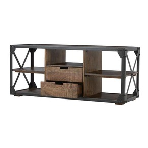 Industrial TV Unit with Drawer
