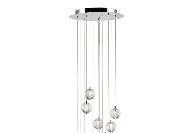 Bubbles set of 14 pendant lamp avivo lighting treniq 2