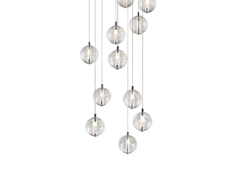 Bubbles set of 14 pendant lamp avivo lighting treniq 3