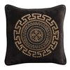 Meandros zardosi cushion 17x17