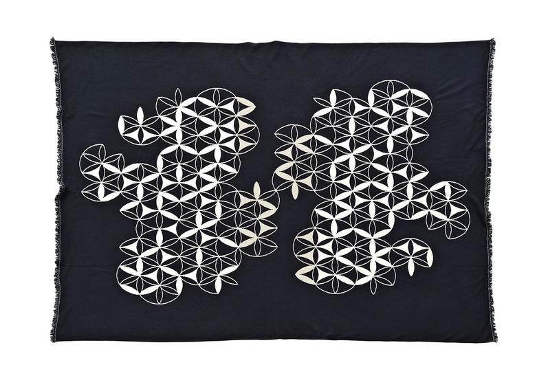 Circles by compass fabric licini roberta treniq 2