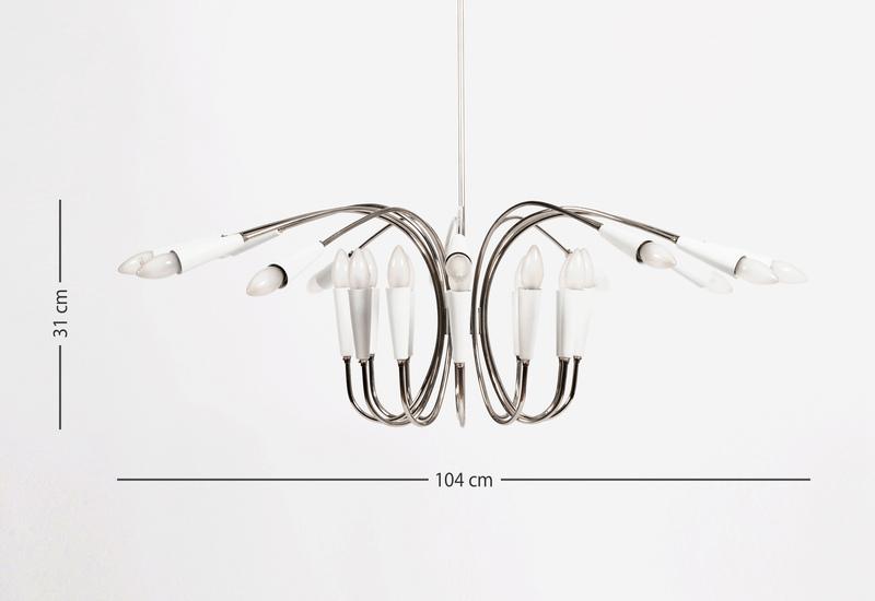 Aretha suspension lamp delightfull treniq 6