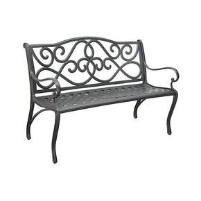 Metal Garden Bench