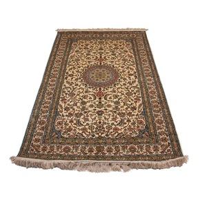 Kashmiri Handmade Hand Knotted Silk on Silk Carpets