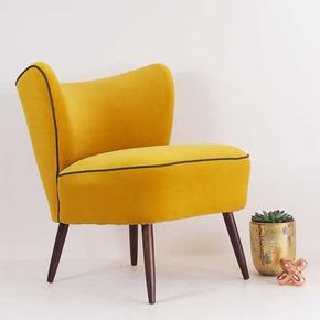 Mid-Century-Made-Modern-The-Bartholomew-Cocktail-Chair-In-Yellow-Velvet_Galapagos-_Treniq_0