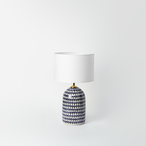 Puglian Pattern Table Lamp