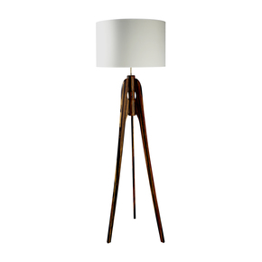 Luna Bamboo Floor Light - Jane Stableford - Treniq