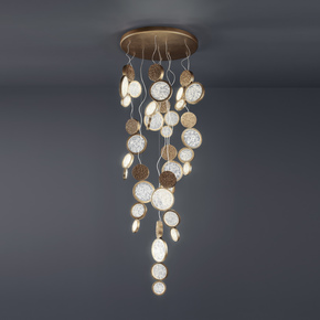 Luna Suspension Lamp 4 - Serip - Treniq