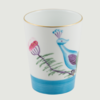 Limoges handpanted peacock   blossom goblet set 4 rachel bates interiors ltd treniq 1 1491403533346