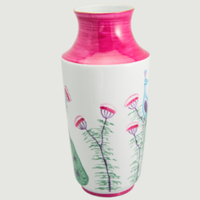 Limoges-Hand-Painted-Peacock-&-Blossom-Vase-(Various-Colours)_Rachel-Bates-Interiors-Ltd_Treniq_2