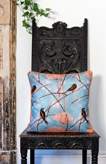 Little finches cushion collection lux   bloom treniq 5 1491566083168