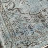 Aqua blue overdyed handmade rug istanbul carpet treniq 1 1491567825919