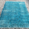 Turquoise blue handmade turkish rug istanbul carpet treniq 1 1491568013290