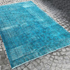 Turquoise blue handmade turkish rug istanbul carpet treniq 1 1491568013292