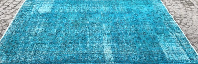 Turquoise blue handmade turkish rug istanbul carpet treniq 1 1491568013293