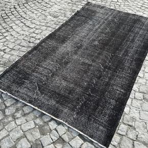 Black-Overdyed-Handmade-Rug-Vintage-Turkish-Carpet_Istanbul-Carpet_Treniq_0