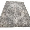 Gray and brown overdyed handmade rug istanbul carpet treniq 1 1491575066059