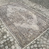 Gray and brown overdyed handmade rug istanbul carpet treniq 1 1491575066061