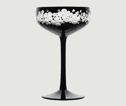 Isadora crystal champagne saucer   black rachel bates interiors ltd treniq 1 1491837110436