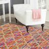Rainbow handwoven cotton durry yak carpet  treniq 1 1491897365100