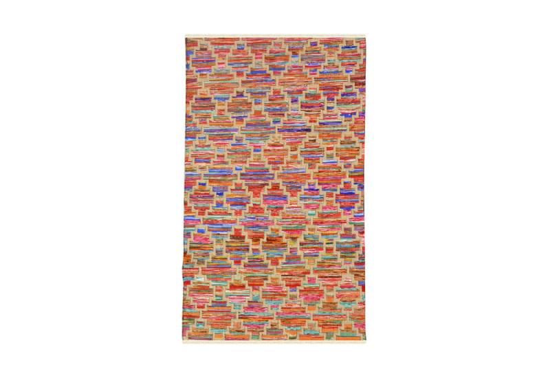 Rainbow handwoven cotton durry yak carpet  treniq 1 1491897370230