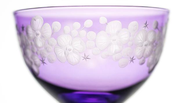 Cristobelle crystal champagne saucer   violet rachel bates interiors ltd treniq 1 1491931518656