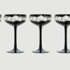 Isadora crystal champagne saucer   black rachel bates interiors ltd treniq 6 1491997051949