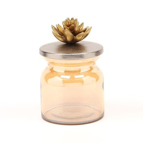 Jar Lotus Collection - Home N Earth- Treniq