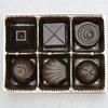 Box of chocolates  paperweight set. kac studios treniq 1 1492148577795