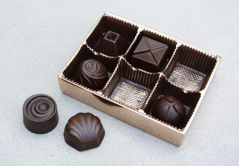 Box of chocolates  paperweight set. kac studios treniq 1 1492148577796