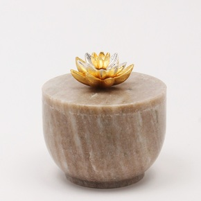 Stone-Box-Medium-Lotus-Collection_Home-N-Earth_Treniq_0