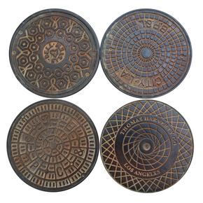 Los-Angeles-Manhole-Cover-Coasters_Kac-Studios_Treniq_0