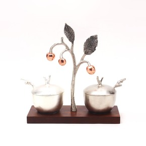 Sugar And Milk Pot Cherry Collection - Home N Earth - Treniq