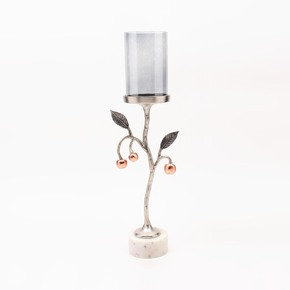 Pillar Candle Holder Small Cherry Collection -