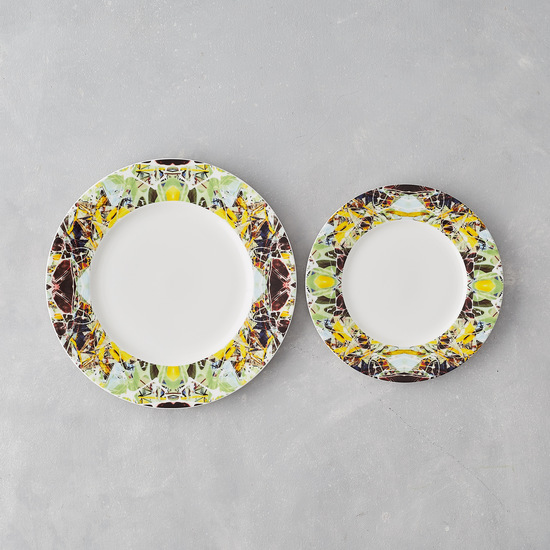 Kaleidoscope dinner plate spring designers atelier treniq 1 1492354548514