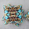 Kaleidoscope linen cushion summer designers atelier treniq 1 1492364039260