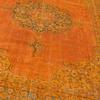 Oversized orange overdyed handmade rug   vintage oushak carpet istanbul carpet treniq 1 1493206772465