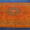 Oversized orange overdyed handmade rug   vintage oushak carpet istanbul carpet treniq 1 1493206772472