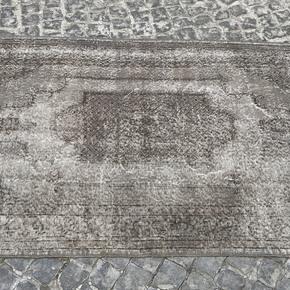Grey-Overdyed-Turkish-Rug-Handmade-Vintage-Oushak-Carpet_Istanbul-Carpet_Treniq_0