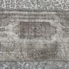 Grey overdyed turkish rug   handmade vintage oushak carpet istanbul carpet treniq 1 1493289359543