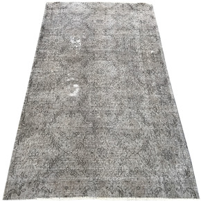 Grey-Overdyed-Handmade-Rug-Vintage-Turkish-Gray-Carpet_Istanbul-Carpet_Treniq_1