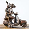 They were the authentic vespa riders velvenoir  treniq 1 1494063013414