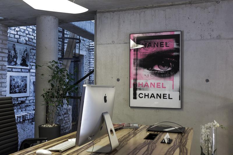 Chanel pink velvenoir  treniq 1 1494076341760