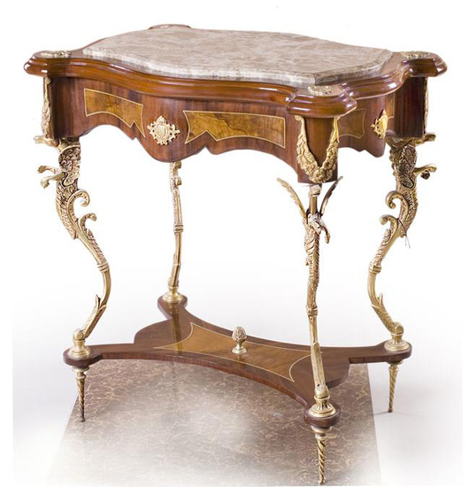 French Louis XV Console Table - Treniq
