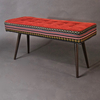 Studio series bench  folklorica with flame red seat five finger furnishings treniq 1 1494609322777